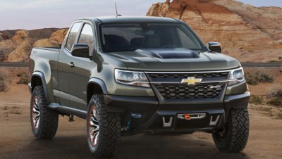 Chevrolet Colorado ZR2 Concept, il nuovo pick up americano