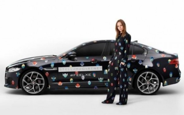 Stella McCartney realizza un nuovo look per la Jaguar XE