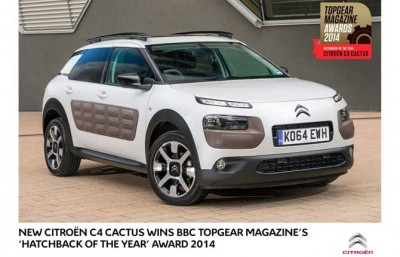 "Citroen C4, ""Hatchback of the Year"""