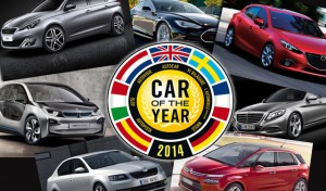 le 7 finaliste del Car of the year 2014
