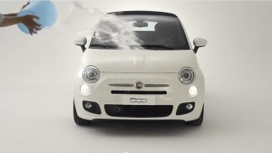 Ice Bucket Challenge, la prima auto nominata è FIAT 500 (VIDEO)