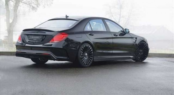 Mercedes S63 AMG, il tuning di Mansory