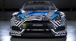 Felipe Pantone, re dei graffiti, disegna la Ford Focus Rs di Ken Block