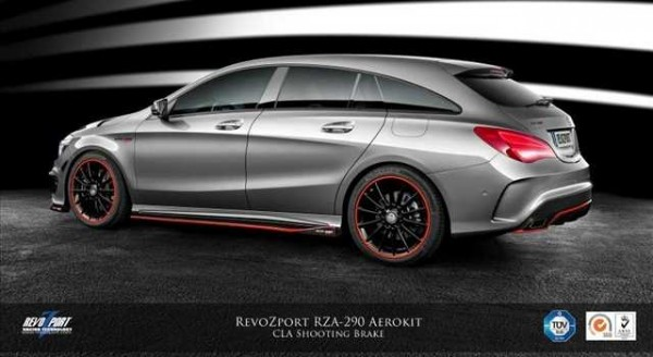 Mercedes CLA Shooting Brake, il tuning di RevoZport